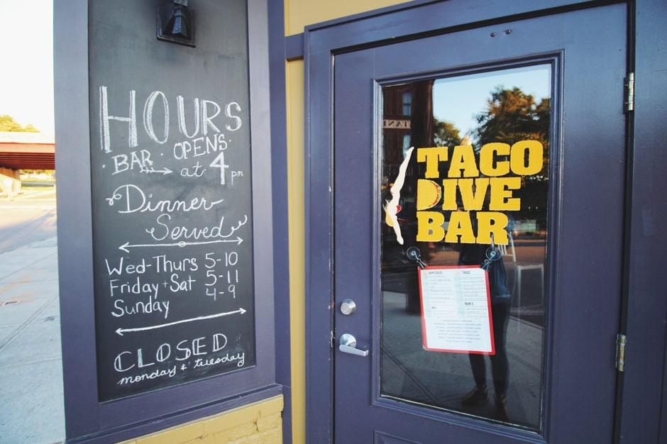 taco dive bar front