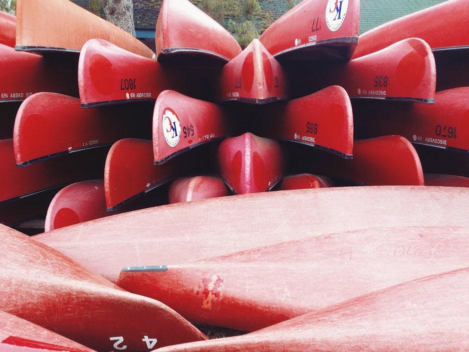 kittatinny-canoes