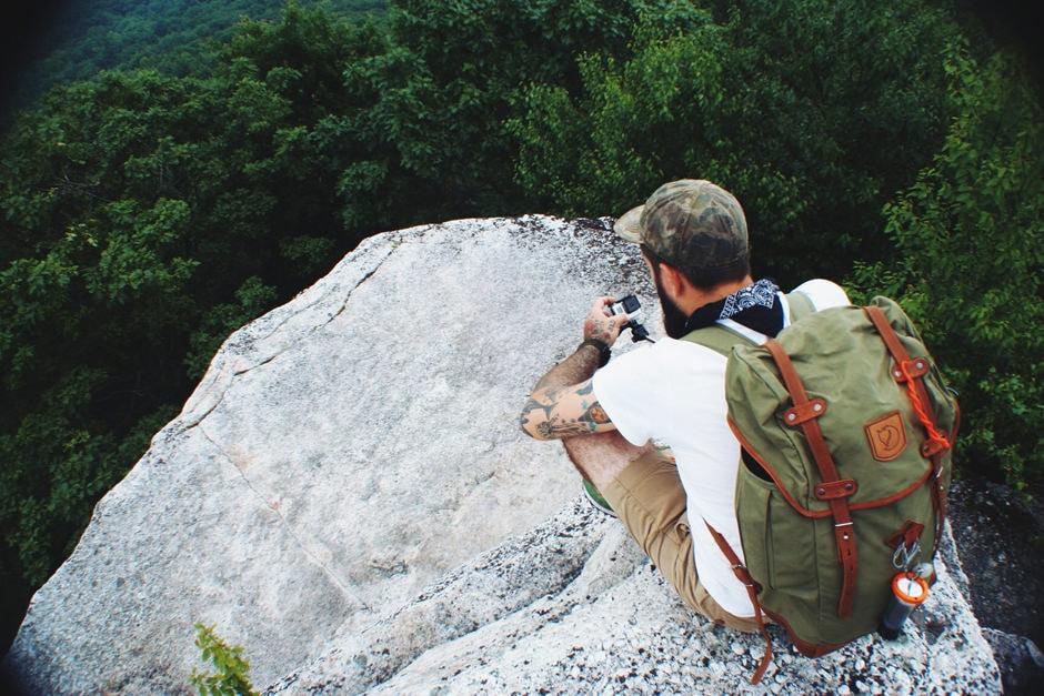 GIANT ROCKS DENNY WITH GOPRO