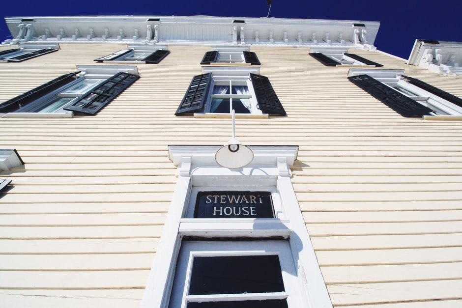 stewart house front