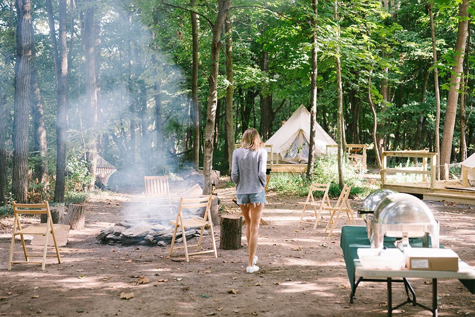 Shawnee Island Glamping Pa Escape Brooklyn