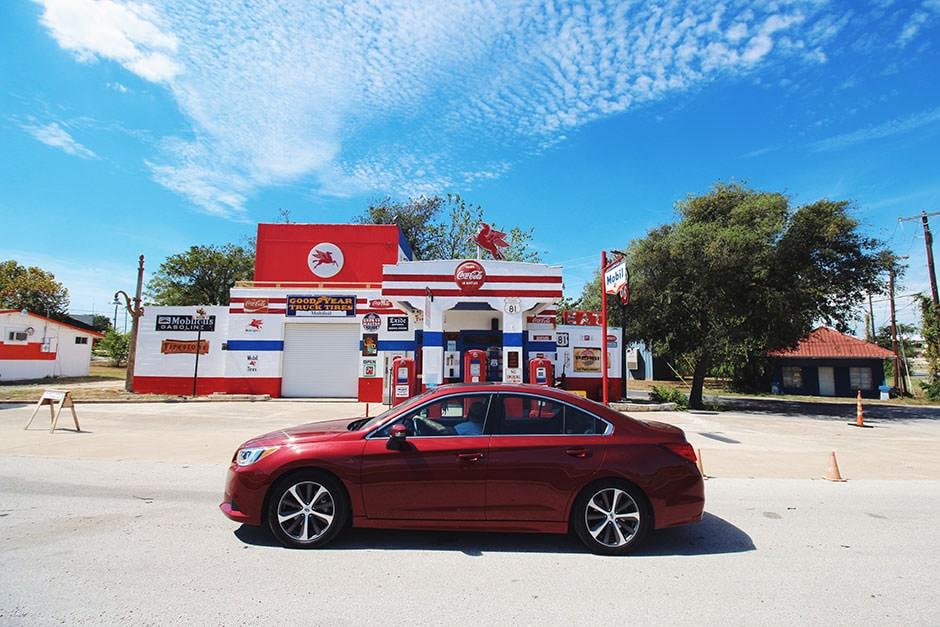 on-the-road-subaru-gas-station