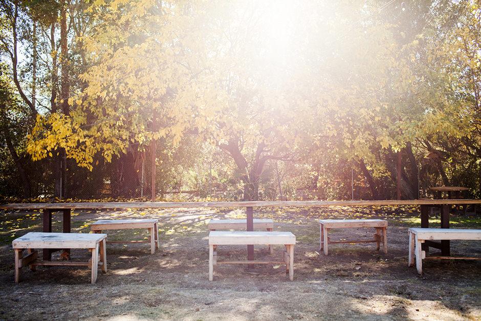 rancho benches