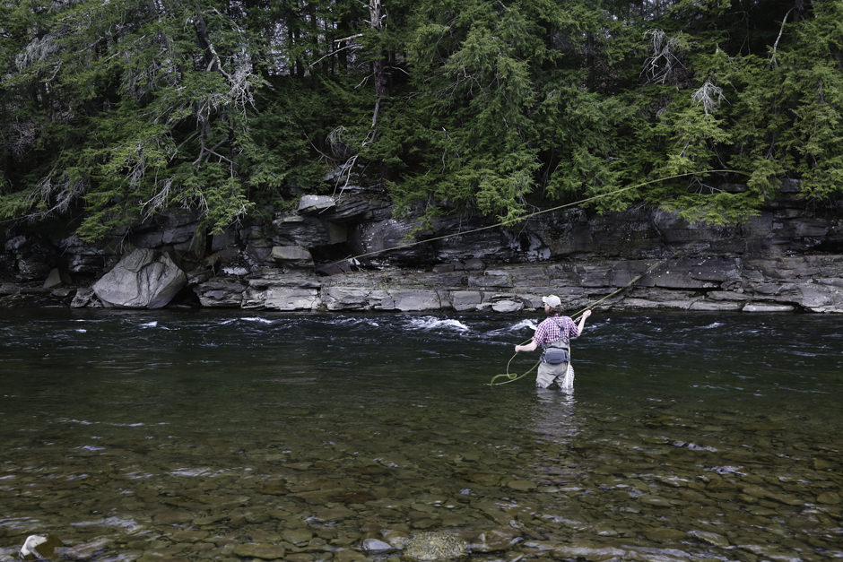All inclusive fly fishing weekends in the catskills for Fly fishing creel