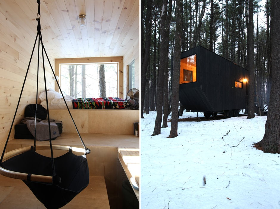 Getaway Tiny Cabins In The Woods Escape Brooklyn