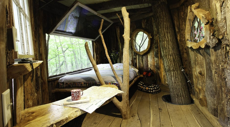 Treehouse Bedroom Cropped Escape Brooklyn