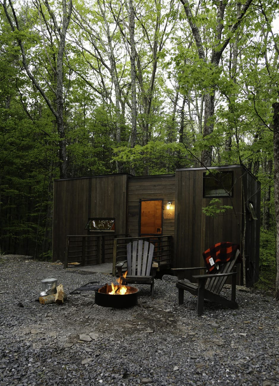 Getaway house tiny cabins in the woods